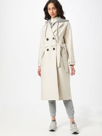 Demisezoninis paltas iš River Island , spalva - smėlio / pilka, Modelio vaizdas