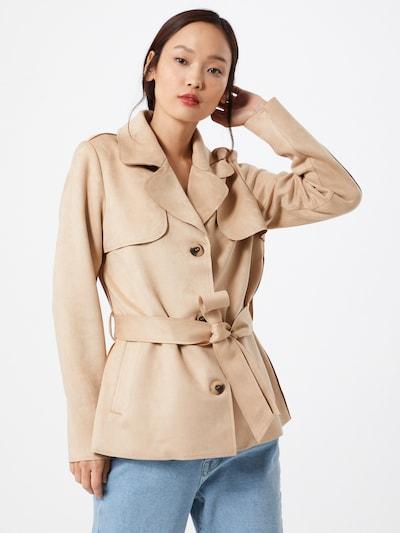 VILA Mantel  'Jaky' in beige, Modelansicht