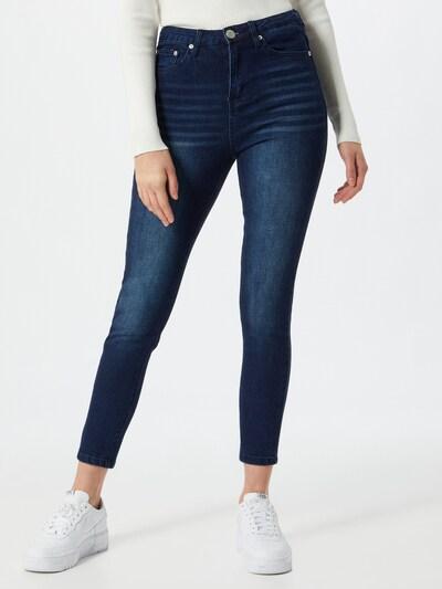 GLAMOROUS Jeans in dunkelblau, Modelansicht