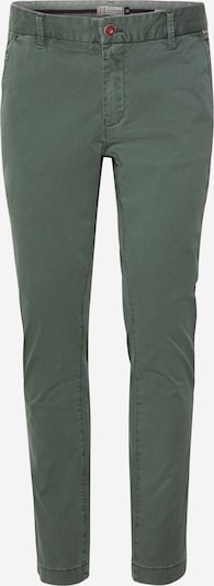 Hailys Men Pantalon chino 'Mika' en vert, Vue avec produit