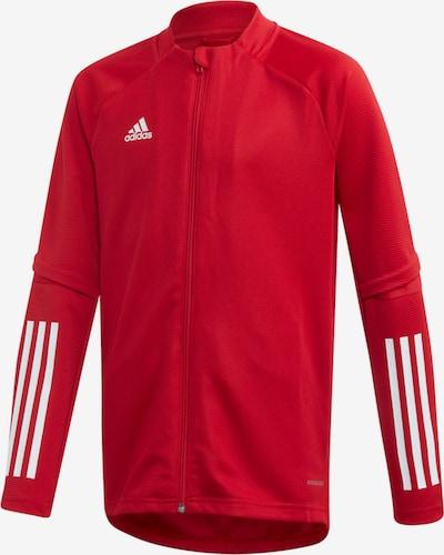 ADIDAS PERFORMANCE Jacke in rot / weiß, Produktansicht