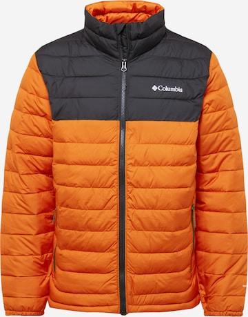 COLUMBIA Sportjacke in Orange