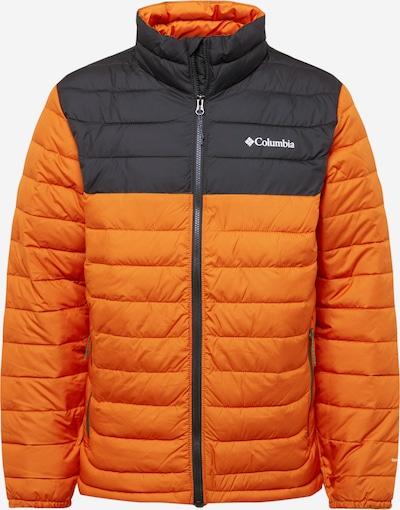 COLUMBIA Outdoor jacket in Anthracite / Dark orange, Item view