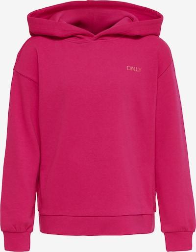 KIDS ONLY Sweatshirt 'Zoey' in dunkelpink, Produktansicht