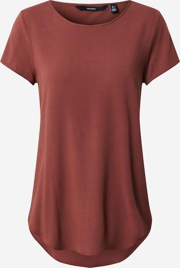 VERO MODA Shirt 'Becca' in de kleur Donkerbruin, Productweergave