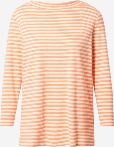 STREET ONE Shirt in creme / koralle, Produktansicht