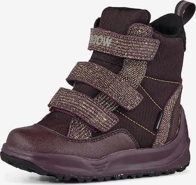 WODEN Kids Boots ' Adrian Pearl ' in Brown / Gold / Plum, Item view