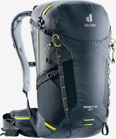 DEUTER Sports Backpack 'Speed Lite 24' in Yellow / Grey / Black, Item view