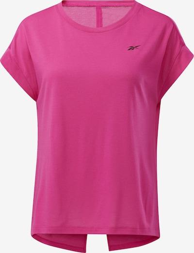 REEBOK T-Shirt 'Workout Ready Supremium' in pink / schwarz, Produktansicht