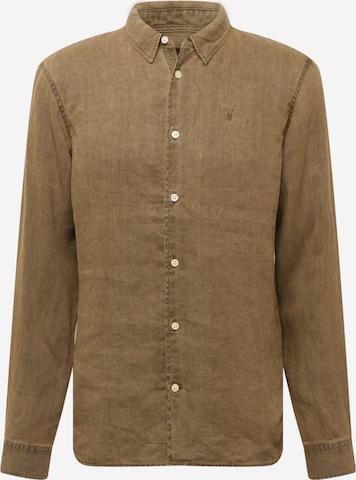 AllSaints Skjorte i brun