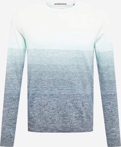 Pullover JACK & JONES di colore turchese / blu pastello / blu sfumato, Visualizzazione prodotti