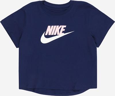 Nike Sportswear T-Shirt en marine / rose / blanc, Vue avec produit