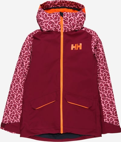 HELLY HANSEN Jacke in lila / orange / blutrot, Produktansicht