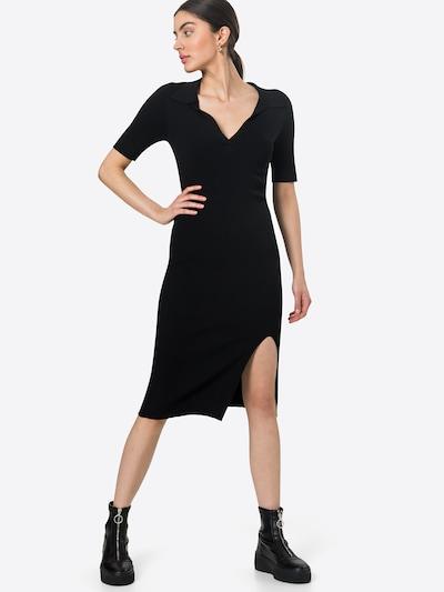 Rochie tricotat 'Tine' Neo Noir pe negru, Vizualizare model