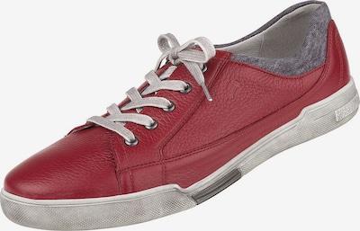 Natural Feet Schnürer 'Dallas' in rot, Produktansicht