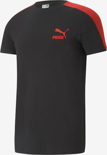 PUMA Functioneel shirt in de kleur Rood / Zwart, Productweergave
