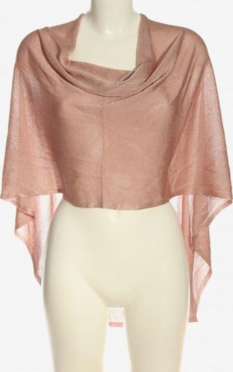 Gelco Poncho in XS-XL in gold / pink, Produktansicht