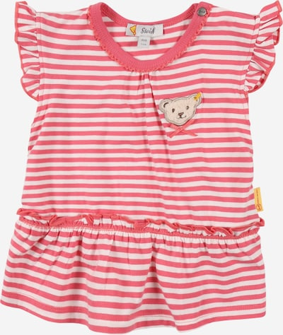 Steiff Collection Shirt in de kleur Lichtbeige / Donkerbruin / Rosa / Wit, Productweergave