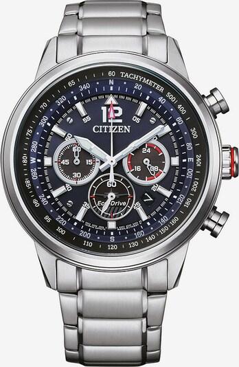 CITIZEN Uhr in blau / schwarz / silber, Produktansicht