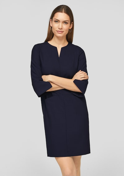 s.Oliver BLACK LABEL Kleid in navy, Modelansicht