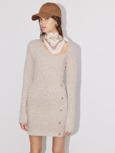 LeGer by Lena Gercke Knitted dress 'Belana' in mottled beige, View model