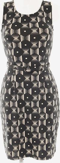 King Louie A-Linien Kleid in S in creme / schwarz, Produktansicht