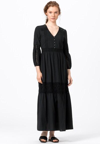 HALLHUBER Kleid in schwarz: Frontalansicht