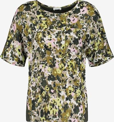 GERRY WEBER T-Shirt in grün / khaki / dunkelgrün / hellpink / weiß, Produktansicht