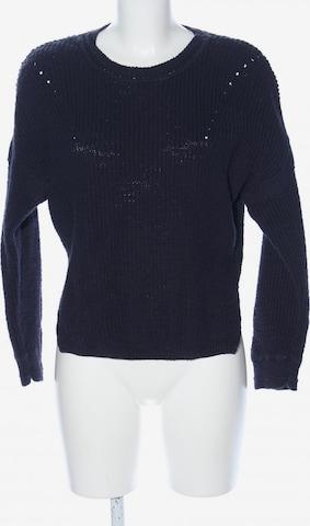 HESSNATUR Sweater & Cardigan in XS in Blue