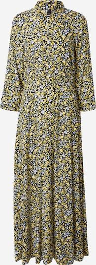 Y.A.S Kleid 'SAVANNA' in hellblau / gelb / schwarz / weiß, Produktansicht
