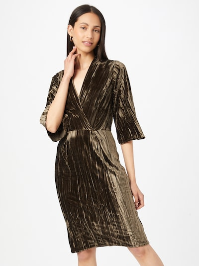 Closet London Koktel haljina u kaki, Prikaz modela