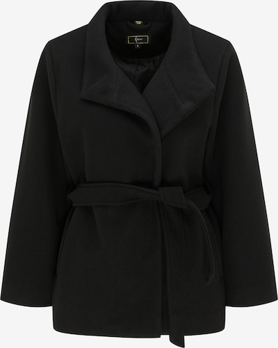 faina Between-seasons coat in Black, Item view