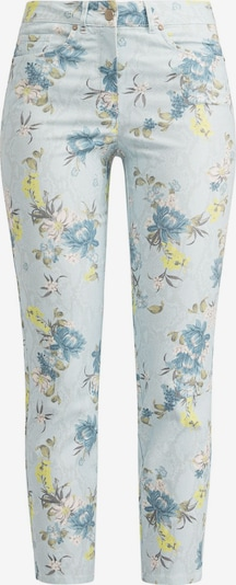 Recover Pants Hose in himmelblau / hellblau / gelb / khaki / offwhite, Produktansicht