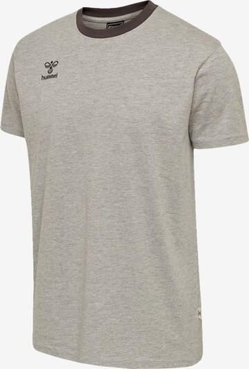 Hummel T-Shirt in grau, Produktansicht
