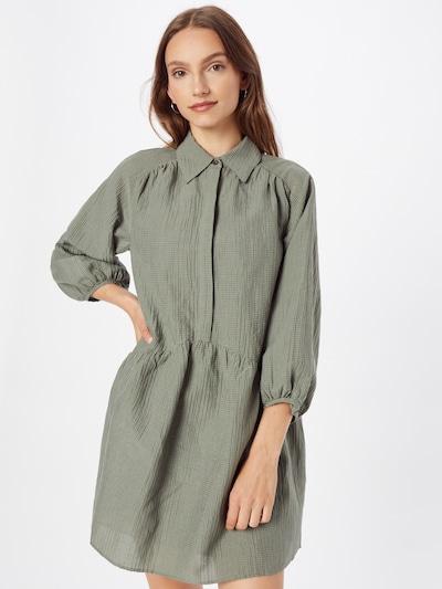 Club Monaco Shirt Dress in Dark green, View model