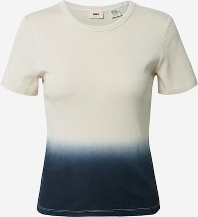 LEVI'S T-Shirt 'GRAPHIC RICKIE' in dunkelblau / weiß, Produktansicht