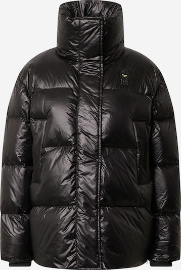 Blauer.USA Winterjas 'Imbottito Piuma' in de kleur Zwart, Productweergave