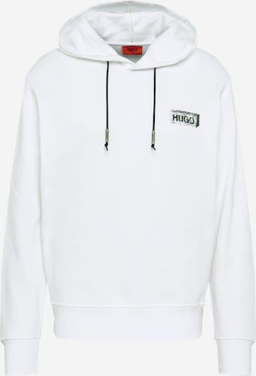 HUGO Sweater majica u crna / bijela, Pregled proizvoda