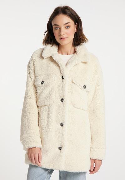 MYMO Mantel in wollweiß, Modelansicht