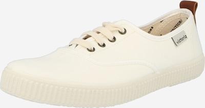 VICTORIA Sneaker in kitt / karamell, Produktansicht