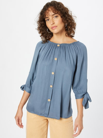 Camicia da donna 'Eliana' Hailys di colore blu colomba, Visualizzazione modelli