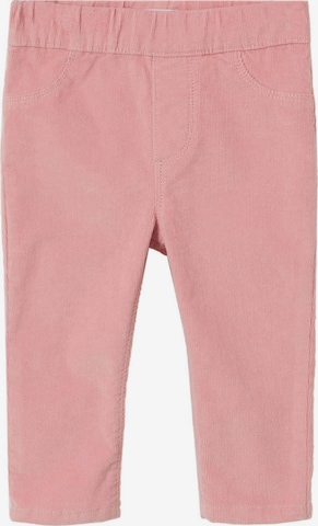 Pantaloni 'URSULA' de la MANGO KIDS pe roz