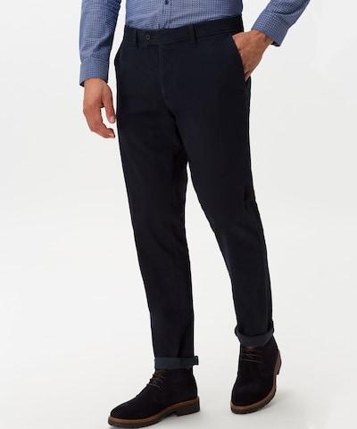 BRAX Chinohose 'Evans' in dunkelblau, Modelansicht