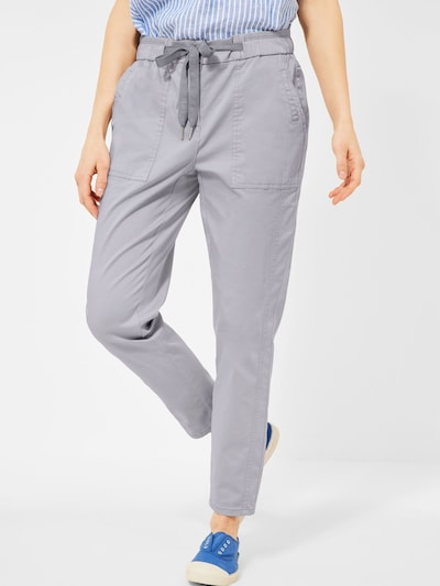 CECIL Kalhoty - šedá, Model/ka
