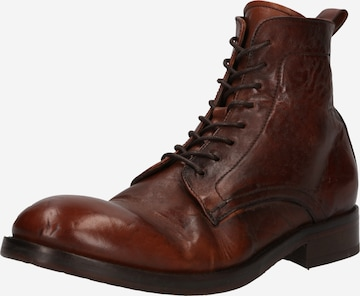 Hudson London Lace-Up Boots 'CEDAR' in Brown
