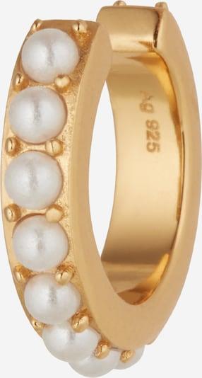 OHH LUILU Náušnice 'Aria' - zlatá / perlově bílá, Produkt