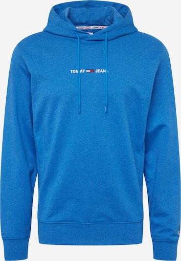 Tommy Jeans Sweat-shirt en bleu marine / bleu roi / rouge feu / blanc, Vue avec produit