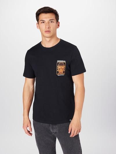 SHINE ORIGINAL Shirt in de kleur Geel / Zwart / Wit: Vooraanzicht