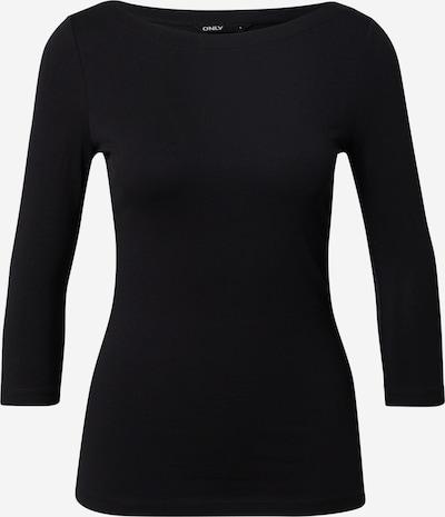 ONLY T-shirt 'AYA' en noir, Vue avec produit