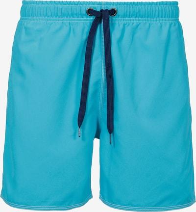 ARENA Sportbadehose 'Solid' in hellblau / dunkelblau, Produktansicht